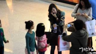 getlinkyoutube.com-111111 Jessica @ Incheon Int'l Airport