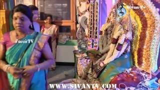 சூரிச் அருள்மிகு சிவன் கோவில் பூங்காவனத்திருவிழா. 11.07.2016