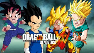 getlinkyoutube.com-Goku Jr & Vegeta Jr  VS Goten & Trunks | Dragon Ball Xenoverse MODS (Duels)