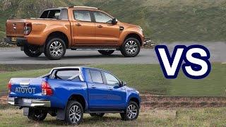 getlinkyoutube.com-2016 Ford Ranger VS 2016 Toyota HiLux - DESIGN!