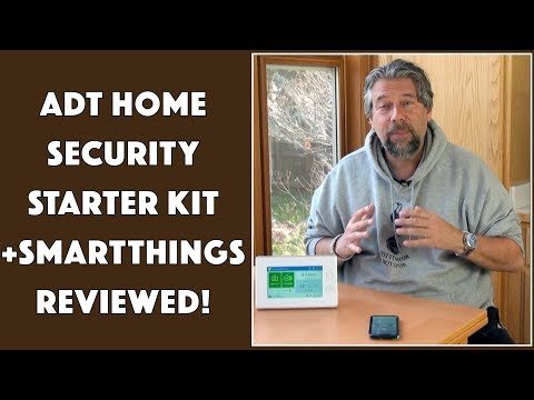 ADT Home Security Starter Kit - Powered by Samsung SmartThings - REVIEWED