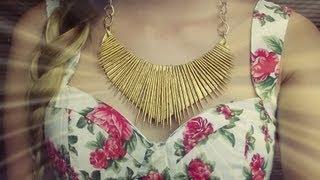 getlinkyoutube.com-DIY collar con palillos