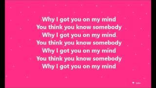 getlinkyoutube.com-Ellie Goulding-On My Mind(Lyrics)