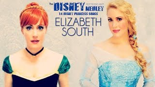 getlinkyoutube.com-14 Disney Princess Medley (Frozen, For the First Time, Let It Go & more) - ElizabethSouth