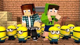 getlinkyoutube.com-Minecraft: Fabrica dos MINIONS !! - Aventuras Com Mods #11