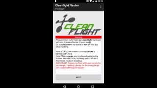 getlinkyoutube.com-Cleanflight flasher for Android