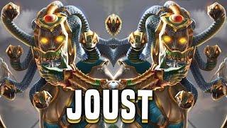 getlinkyoutube.com-Medusa! Turning Them To Stone! (Medusa Build) - Smite Medusa Joust Gameplay