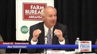 AR Governor Debate: Increasing State Taxes (8:24)
