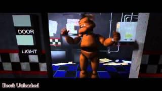getlinkyoutube.com-Пять ночей с мишкой Фреди охранник в шоке