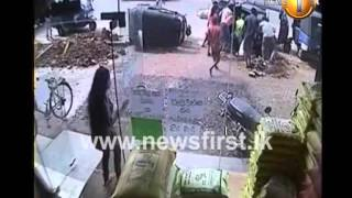 Visuals of a tragic incident which occurred in the Eheliyagoda area