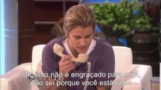 getlinkyoutube.com-Legendado: Justin Bieber passa trote em fã no The Ellen DeGeneres Show