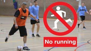 getlinkyoutube.com-No Running! Football As You've Never Seen It Before -  Walking Football | Oddballs