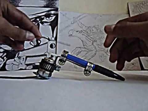 como hacer una maquina de tatuar casera