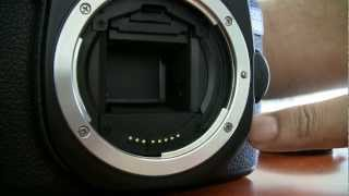 Canon 40D shutter mechanism problem ERR99.flv
