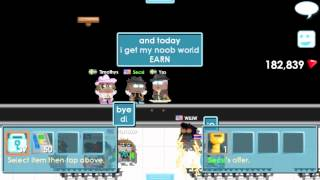 getlinkyoutube.com-Growtopia - Buy World EARN for overpay /omg