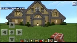 getlinkyoutube.com-Minecraft PE | How to Spawn Houses