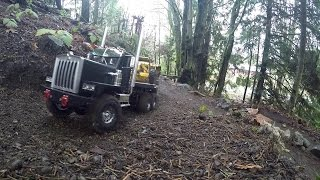 JRP RC - The C500 Kenworth 6x6 Loosing the load