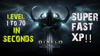 getlinkyoutube.com-Diablo 3 FASTEST XP LEVEL 1 TO 70 IN SECONDS! PS4 Gameplay Hacked WIZARD!