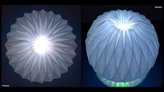 getlinkyoutube.com-Tutorial 25 - Accordion Ball Paper Folding Origami Decoration