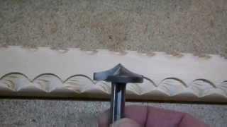 getlinkyoutube.com-Нанесение декора на изделия из дерева. Часть 1. Milling decorating the tree. Part 1.