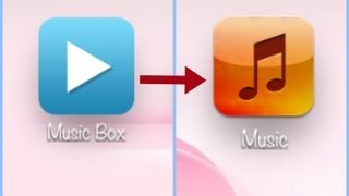Transfer Songs from MusicBox to iTunes library 