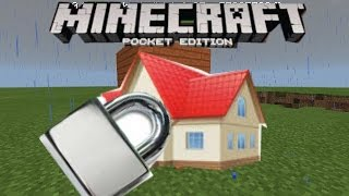 getlinkyoutube.com-[T.D.K] Minecraft PE 0.13.0 บ้านกูร็อค