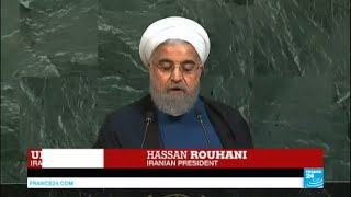 After Donald Trump and Benjamin Netanyahu, the turn of Iranian president Hassan Rouhani to address the UN