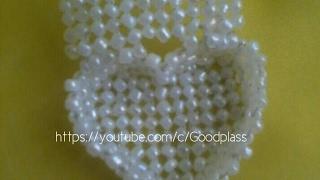 getlinkyoutube.com-Шкатулка-сердце из бусин или бисера. Бисероплетение