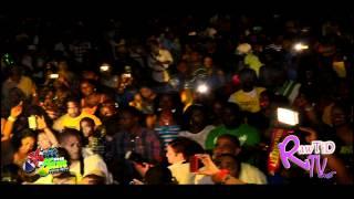 Popcaan en live au Britjam Mars 2012