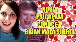 getlinkyoutube.com-NOVIA PSICOPATA CONOCE A BRIAN MALA SUERTE (MEMES)