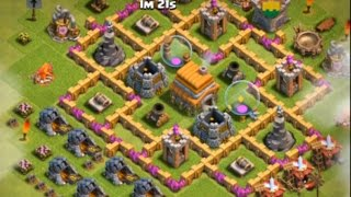 getlinkyoutube.com-Clash of Clans: Best Level 6 Town Hall Defense