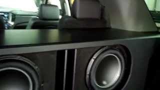 getlinkyoutube.com-2015 Tahoe with 2 JL Audio 12W6v3 subs