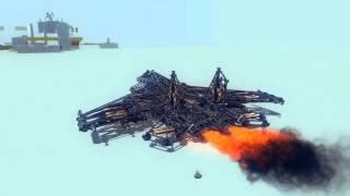 getlinkyoutube.com-Besiege AWESOME FLYER DESIGNS (SU-33, TRANSFORMER, ROCKET, TU-160)
