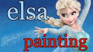 getlinkyoutube.com-Elsa (Frozen) - SpeedPainting
