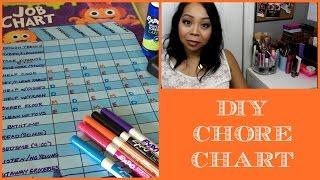 Allowance & Chores - DIY Chore Chart (MommyTipsByCole)