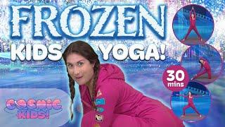 getlinkyoutube.com-Frozen | A Cosmic Kids Yoga Adventure!