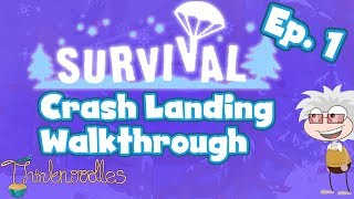 getlinkyoutube.com-★ Poptropica: Survival Ep. 1 - Crash Landing Walkthrough ★