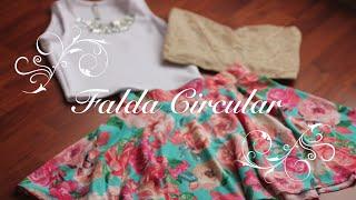 getlinkyoutube.com-Como Hacer una Falda Circular Perfecta!!! (Trazo y Confección)