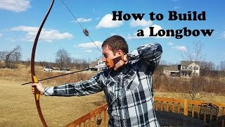getlinkyoutube.com-How to Build a Reflex Deflex Longbow (Hybrid Longbow)