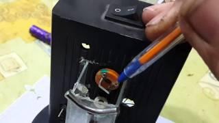 getlinkyoutube.com-Nivel laser casero con grabador CD