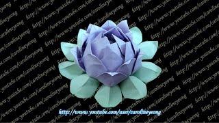 【CYS教程】敬神折纸~莲花(组合)の二(Origami~Lotus)