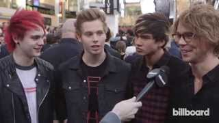 getlinkyoutube.com-5 Seconds of Summer on the AMAs Red Carpet 2014