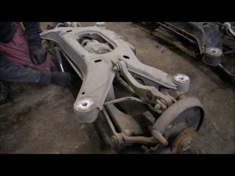 Audi s8 d2 SPb черный мат.замена подрамника
