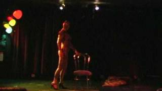 getlinkyoutube.com-Iva Handfull - Snake Burlesque Act
