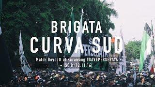 getlinkyoutube.com-Match Boycott at Karawang #SAVEPERSEBAYA - ISC B (12.11.16)