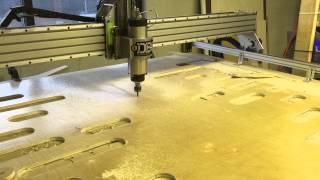 getlinkyoutube.com-Giant mutant Shapeoko 2 CNC router