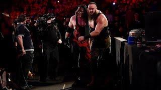 Brock lesner vs brown stroman vs kane triple threat match royal rumble 29 January 2018   Part1st
