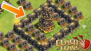 getlinkyoutube.com-Clash of Clans - X-MAS TREE OF DEATH! CoC Tree Trolling! (Epic Tree Troll!) Christmas Eve Special