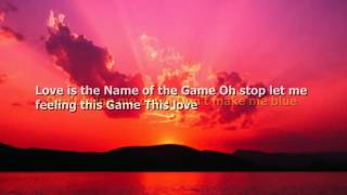 Patty Ryan   Love is the Name of the Game Karaoke   New Wave