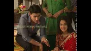 getlinkyoutube.com-On location of TV Serial ''Saraswatichandra'' Saras hand got burned 1